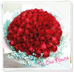 99枝玫瑰求婚花束 BQ-140