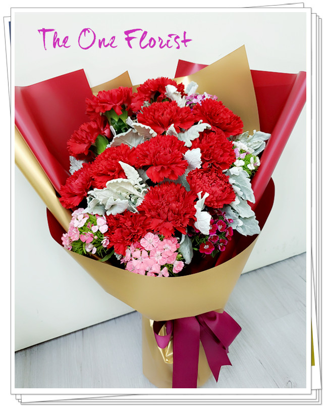 MD-A05 母親節康乃馨花束