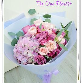 紫玫瑰繡球花束.jpg