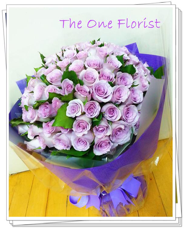 99枝淺子玫瑰 求婚花束 (BQ-88)