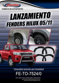 FENDERS HILUX