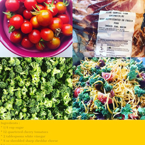 Farm Fresh Broccoli Salad