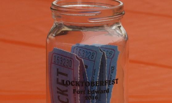 Jar of tickets!