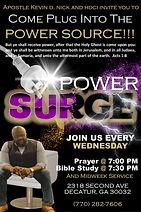 Evangelism Card with Power Surge 4 x 6.j