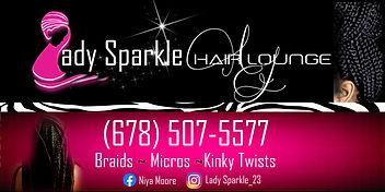Lady Sparkle Car Magnets.jpg