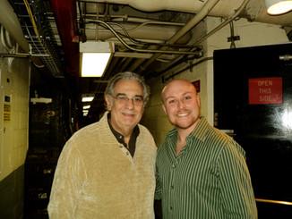 Placido Domingo and Me