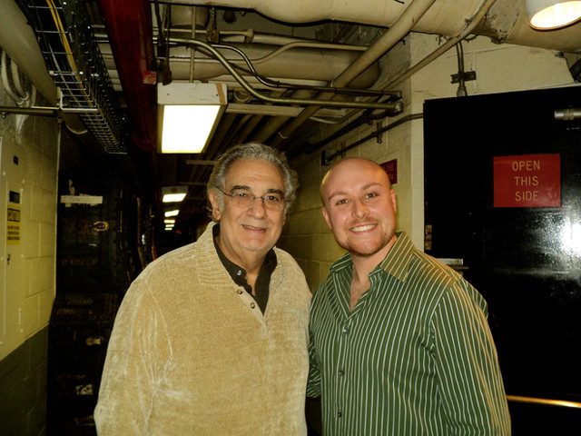 Placido Domingo and Me