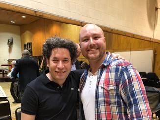 Working with Maestro Gustavo Dudamel