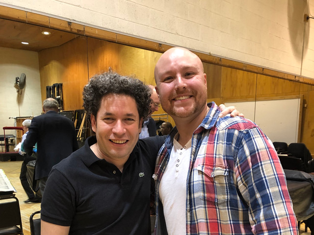 Working with Maestro Gustavo Dudamel