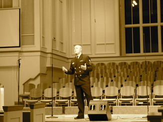 Singing with The Navy Band Sea Chanters