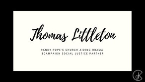 Randy Pope's Church Aiding Obama &Campaign Social Justice Partner
