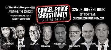 Cancel-Proof Christianity Summit_ Doni Anthony, Sam Jones, Judd Saul, Jeff Dornik, Bobby L