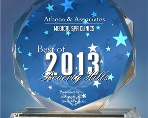 PRESS: Athena Receives 2013 Best of Beverly Hills Award for Medical Spa Clinics