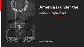 America is under the indirect wrath of God