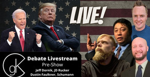 The GateKeepers' Presidential Debate Livestream Pre-Show