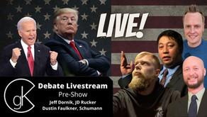 The GateKeepers' Presidential Debate Livestream Pre-Show