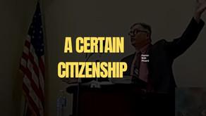 A Certain Citizenship