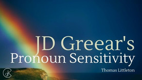 JD Greear's Pronoun Sensitivity