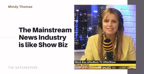 The Mainstream News Industry is like Show Biz