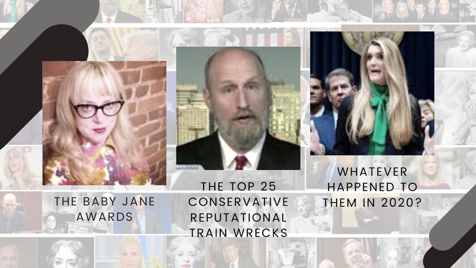 The Baby Jane Awards: The Top 25 Conservative Reputational Train Wrecks