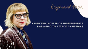 Karen Swallow Prior misrepresents EMS memo to attack Christians