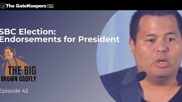 Bobby Lopez endorses Randy Adams for President of the Southern Baptist Convention