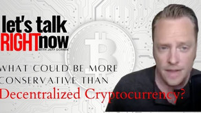 What could be more conservative than getting into decentralized cryptocurrency?