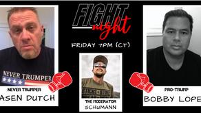 Fight Night: The Biden Voter (Jasen Dutch) vs The Trump Voter (Bobby Lopez)