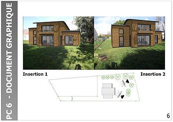 maison extension bois vendée 85 ossature maître d'oeuvre permis construire