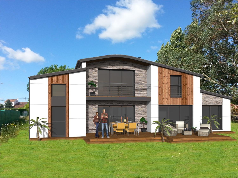 Maison bois moderne Vendée