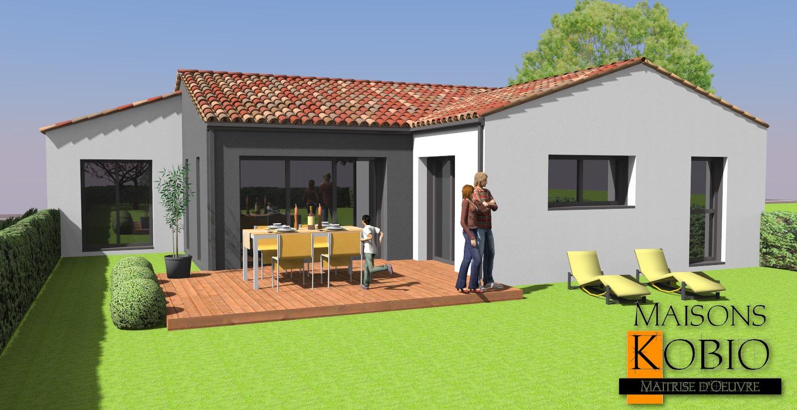 Maison parpaing moderne Vendée 85