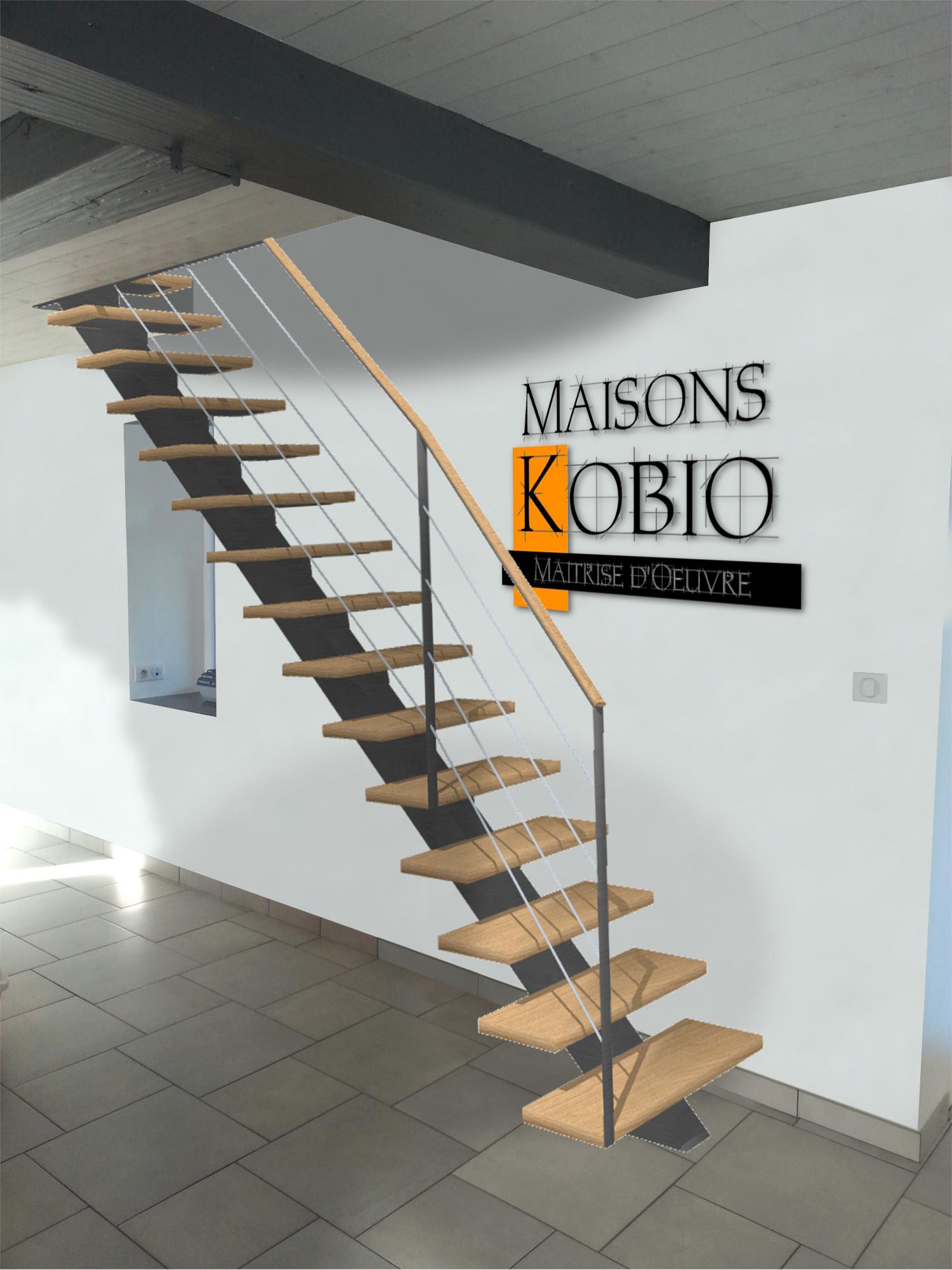 Projet de remplacement d'un escalier
