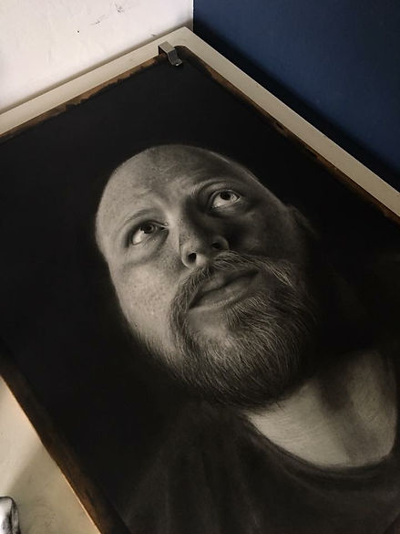 portrait, drawing, belfast, artist,