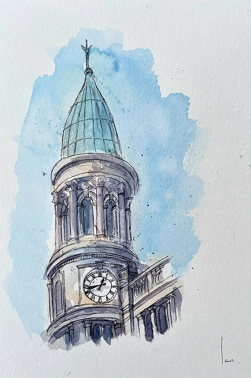 Robinson and Cleaver clocktower