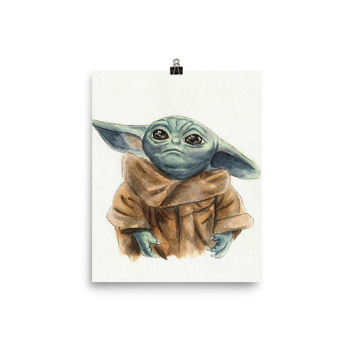 Baby Yoda - Print