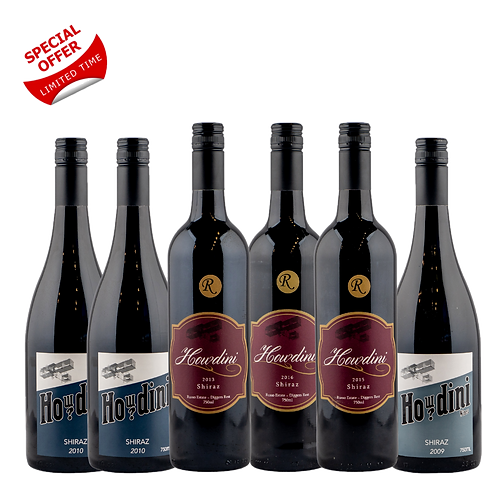 Howdini Shiraz Wine 6 Pack
