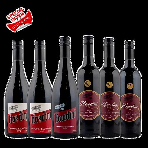 Howdini Cabernet Sauvignon Wine Pack 6 Pack
