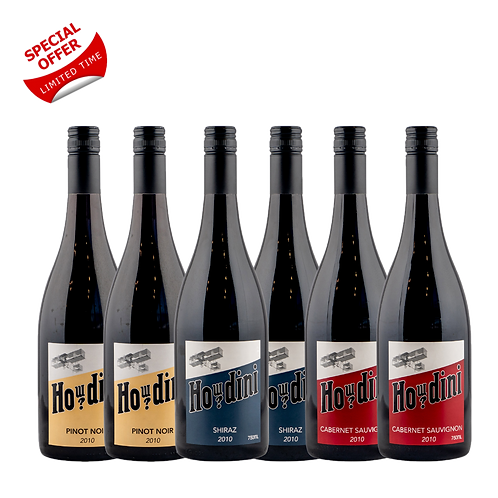 Howdini Mixed Red Wine 6 Pack