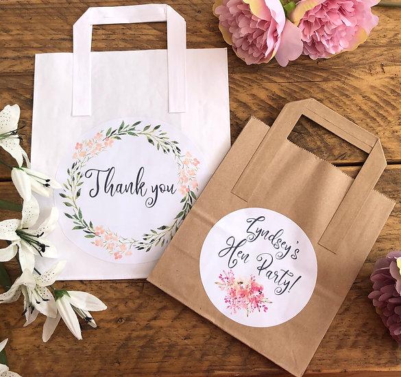 Personalised Paper Gift Bag