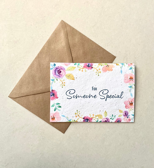 Someone Special, Plantable Greeting Card