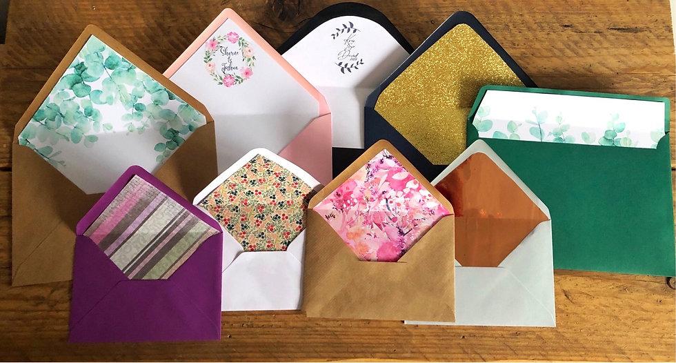 Luxury Wedding Envelopes