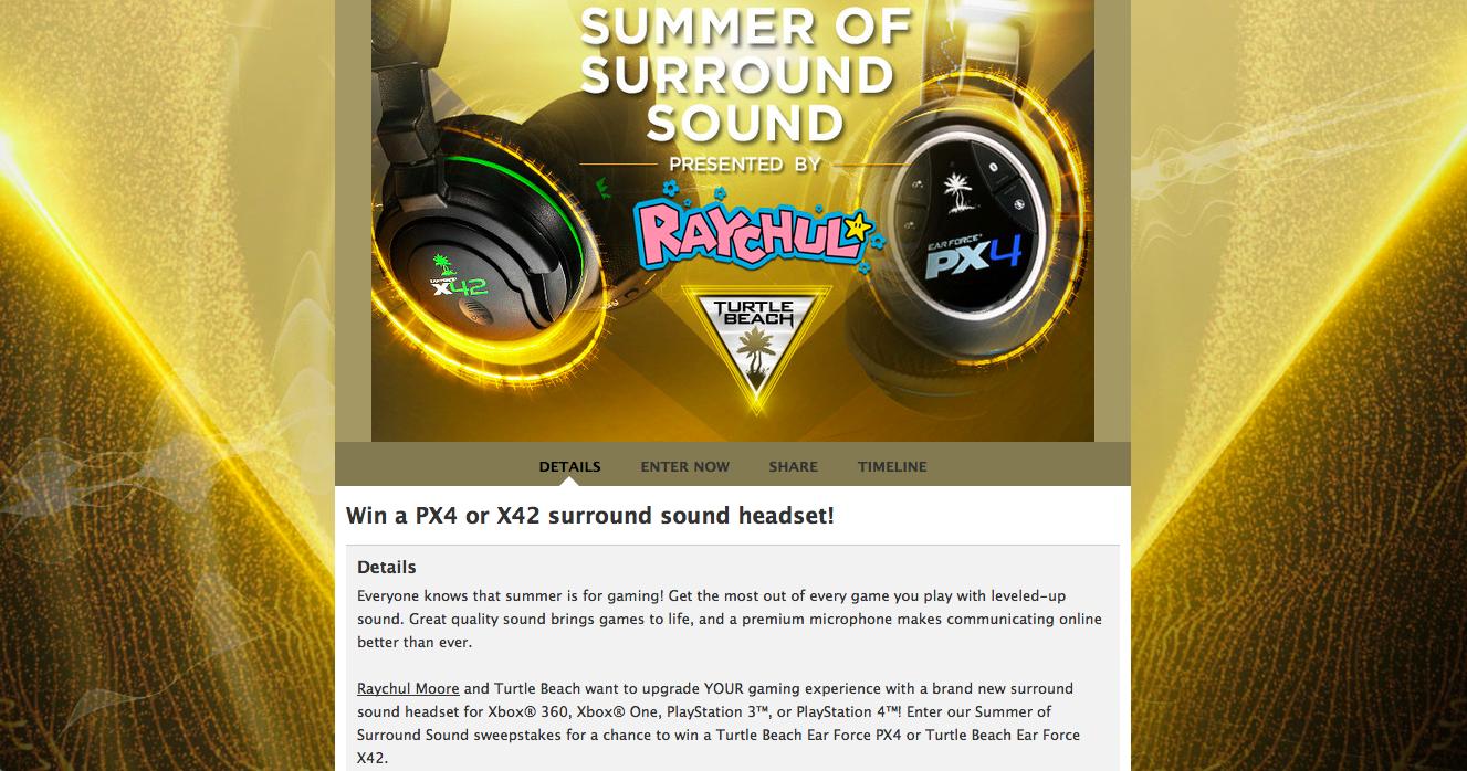Summer of Surround Sound