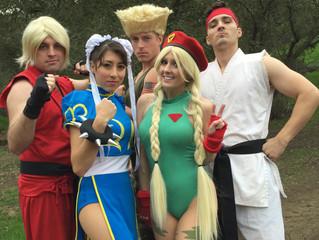 Street Fighter Valentine's Day videoooo