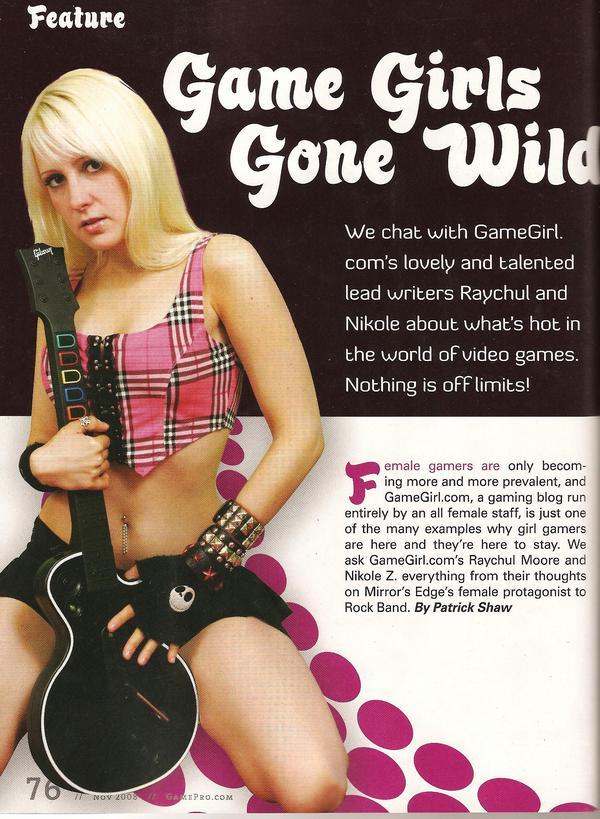 GamePro Feature - Nov. 08
