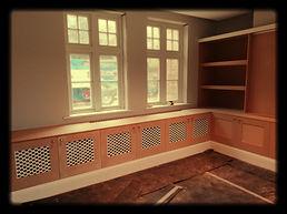 Radiator cupboards