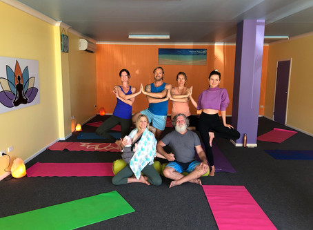 We're back with our dynamic new yoga program!