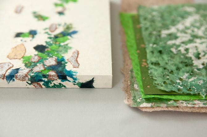 小さな和紙アートパネルを仕立てる〜1DAYワークショップ〜7月開講のお知らせ