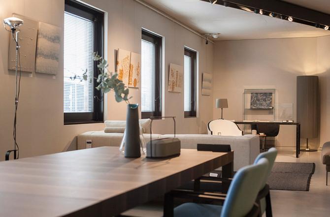「è interiors」にて和紙アートパネルを展示販売