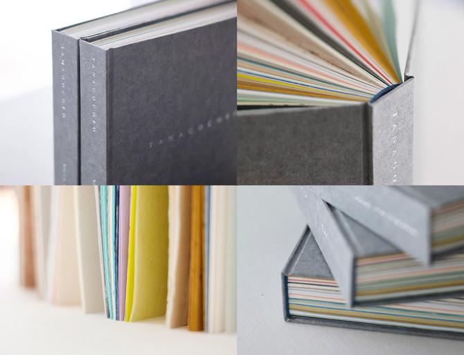 和紙のアートブック「TANAGOCORO」残数30冊となりました