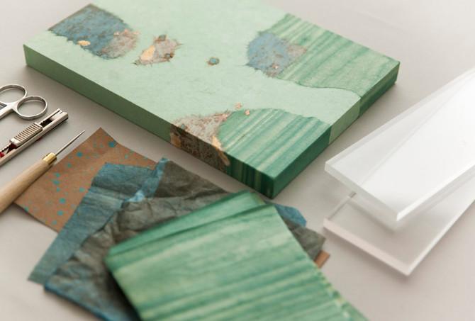小さな和紙アートパネルを仕立てる〜1DAYワークショップ〜 5・6月開講のお知らせ